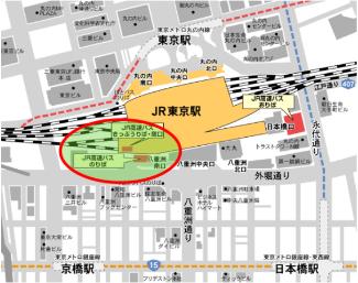 Landing map