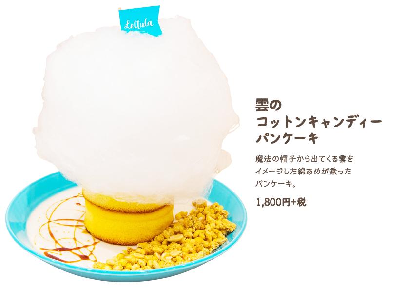 Cloud Cotton Candy Pancake