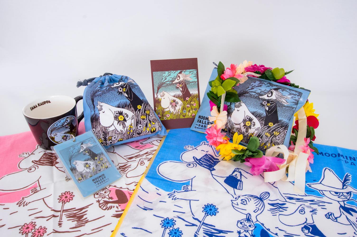 "Novel ""Moominvalley Summer Festival"" motif product selection"