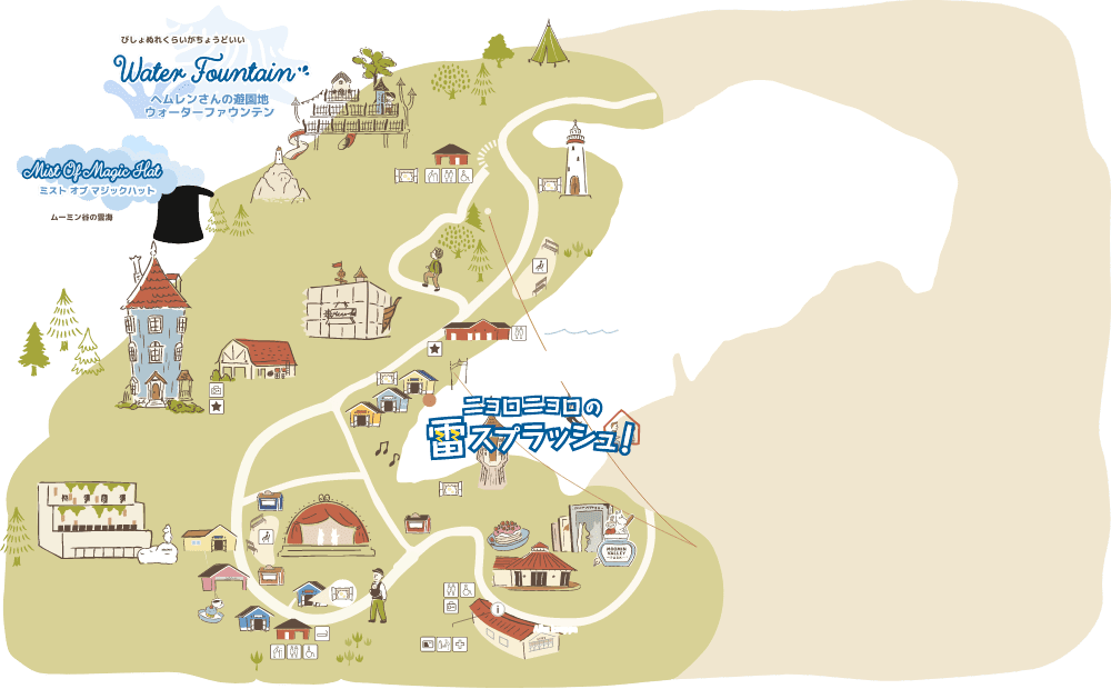 SUMMER ART FESTIVAL MAP